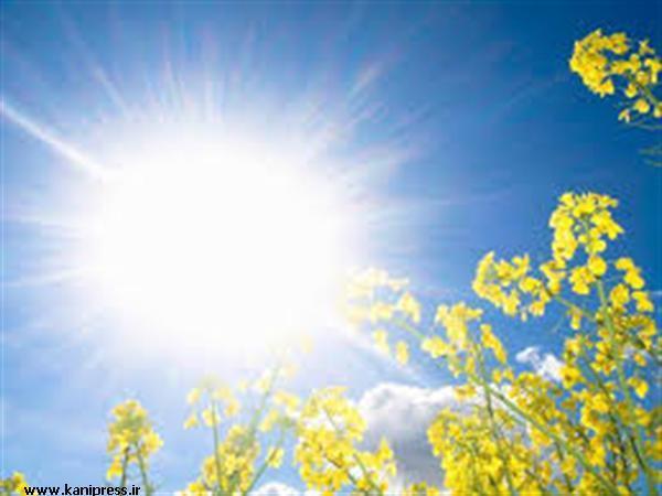 افزایش دمای هوا در استان همدان