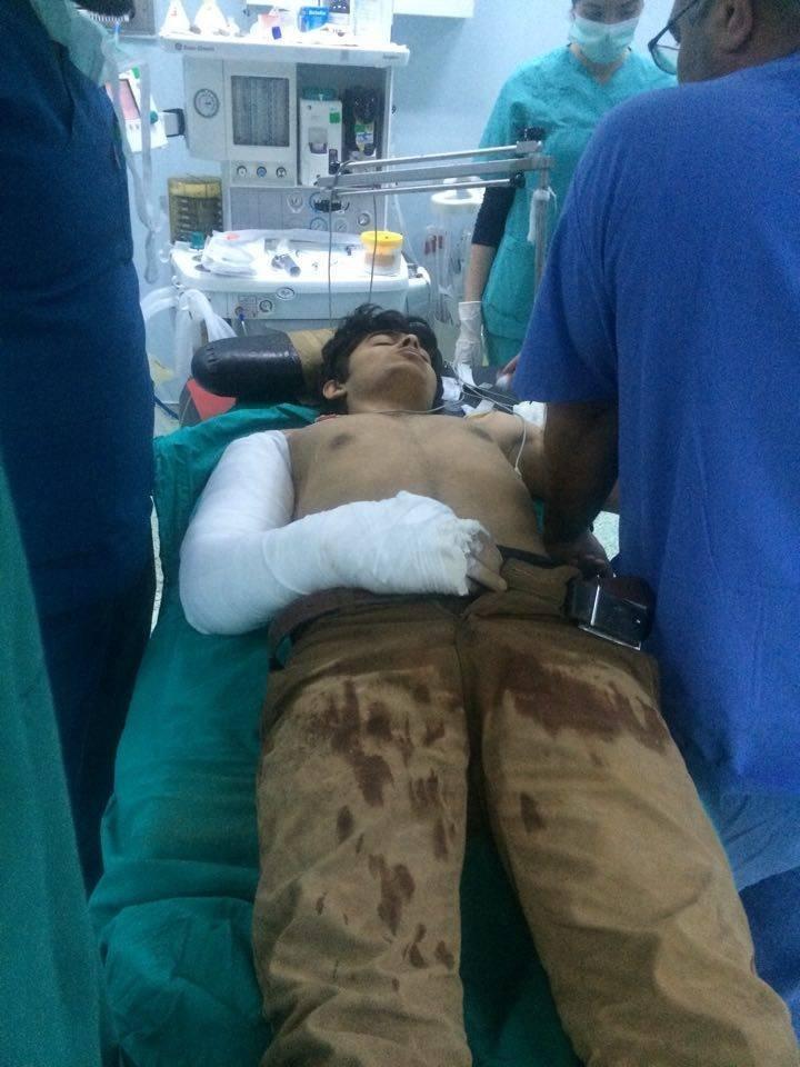 مداوای تروریستهای داعشی در بیمارستانی در ترکیه+ تصاویر