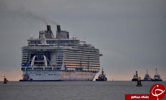 نگاهی به بزرگ ترین کشتی تفریحی جهان+ تصاویر