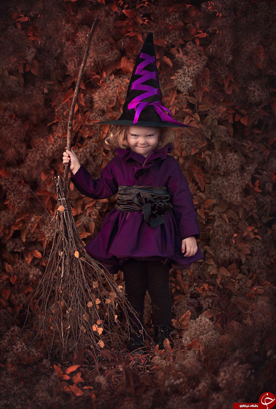 کودکانی که جادوگر می شوند + 9 عکس