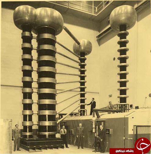 تست دستگاه اشعه ایکس در سال 1941 + عکس