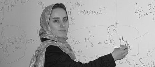بانو ایرانی مغز ریاضیات آمریکا است+ عکس