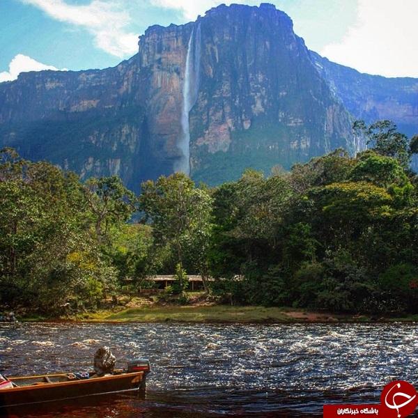 آبشار فرشته در ونزوئلا +تصاویر