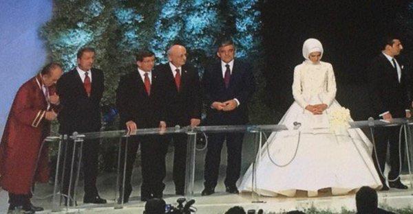مراسم ازدواج دختر اردوغان با پسر بازرگان ترک در استانبول+ تصاویر