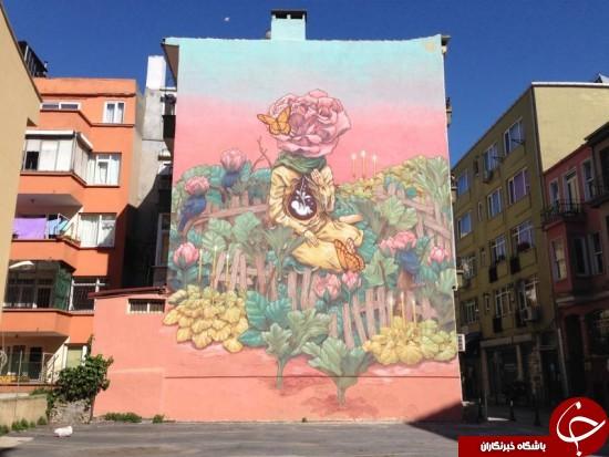 وقتی نقاشی های خیالی به سطح شهر می روند+ 15 عکس