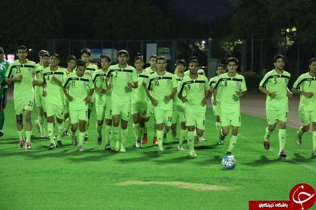 بازگشت تیم ملی فوتبال نوجوانان به تهران