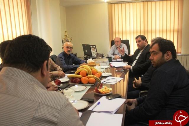 برگزاری نشست هیات رئیسه سازمان لیگ فوتسال