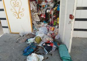 این خانه در رهن زباله است! / مرد زبالهدوست داد اهالی را درآورد + فیلم