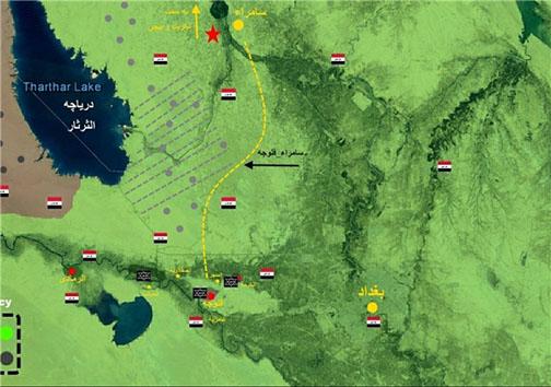 ناکامی داعش در اشغال مجدد منطقه «عامریه» الانبار
