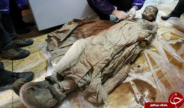 کشف مومیایی 700 ساله درچین +تصاویر