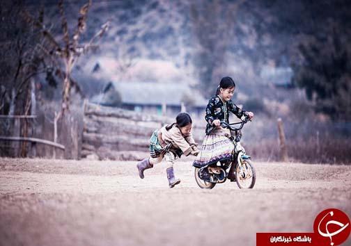 بچگی کردن در همه دنیا شکل یکسانی دارد+عکس