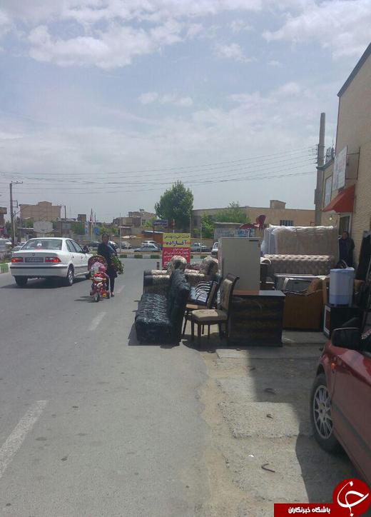 امانتفروشیهایی که خیابان را خریدهاند + تصاویر