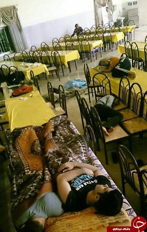 حکایتی از دانشجویانی که در سلف می خوابند /4 دقیقه تاخیر جرقه 4 روز تحصن
