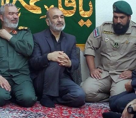 فرزند شهید ناظری در لباس تکاوران دریایی سپاه+ عکس