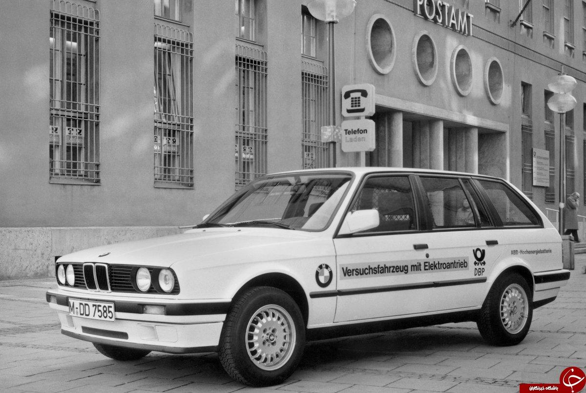 تاریخ شگفت انگیز خودرو های الکتریکی BMW +تصاویر
