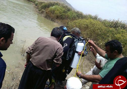 کشف جسد جوان 28ساله کوهنانی در رودخانه سیمره +تصاویر