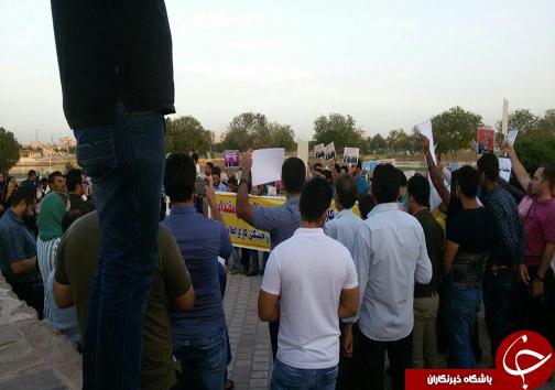 حمایت مردم از استاندار سابق خوزستان