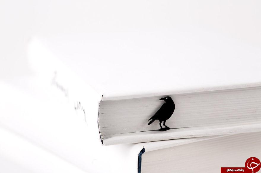 بوک مارک های خلاقانه برای شوق کتاب خواندن+تصاویر