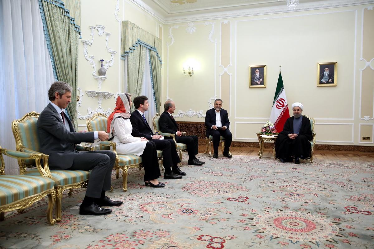 تقویت همکاریهای تهران- پاریس به مبارزه با تروریسم شتاب میدهد/ تاکید بر اجرای سریع توافقات مشترک