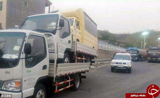 کامیون جورکِش!+ عکس