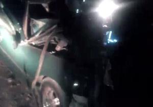 تصادف دلخراش در جاده یاسوج به اصفهان + فیلم
