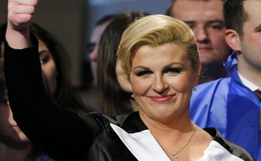 در حاشیه ورود رئیس جمهور پرحاشیه کرواسی به ایران/ وقتی عکسهای کنار ساحل، خانم رئیسجمهور را سوژه کرد+تصاویر