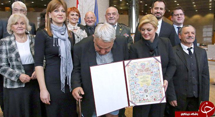 وقتی رئیسجمهور کرواسی با سوپر مدل آمریکایی اشتباه گرفته شد +تصاویر