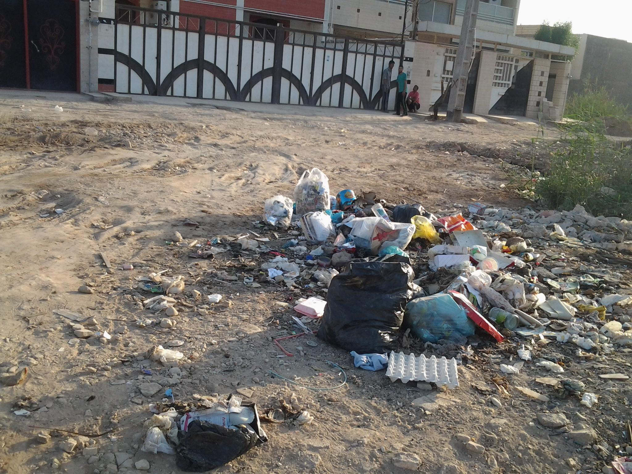 بحران در چند کیلومتری شهرداری اهواز + تصاویر