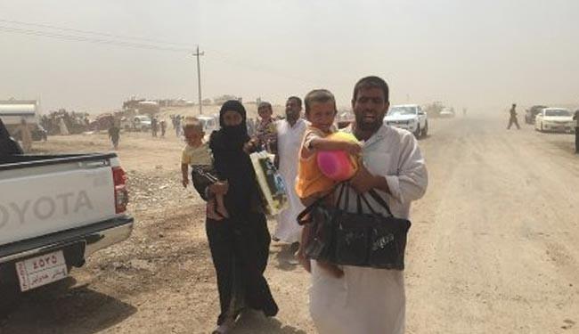 مرگ دردناک خانواده عراقی هنگام فرار از چنگال داعش