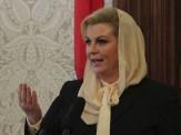وقتی عکسهای کنار ساحل، خانم رئیسجمهور را سوژه کرد/در حاشیه ورود رئیسجمهور کرواسی به ایران+ تصا