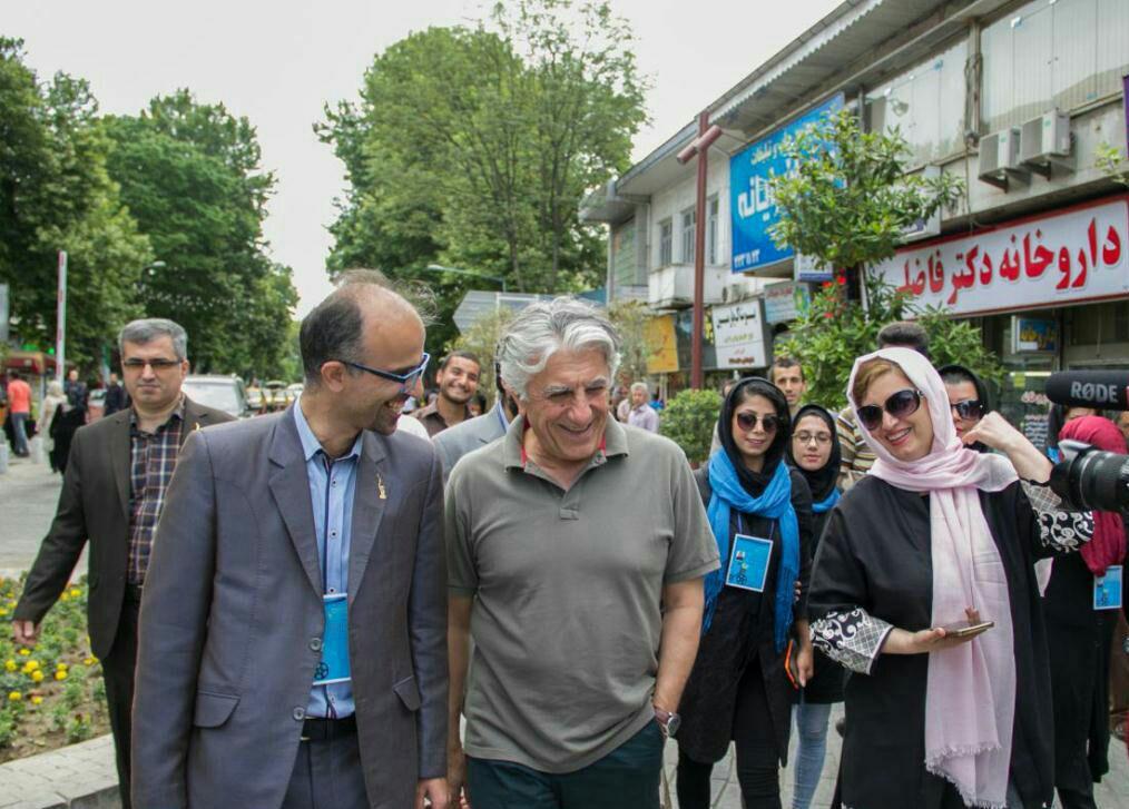 حضور رضا کیانیان در جشنواره فیلم سبز رشت + تصاویر