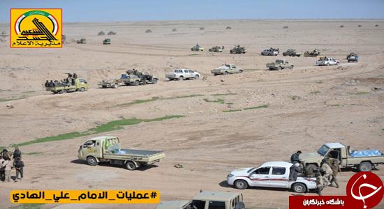 ارتش و حشدالشعبی آماده پاکسازی فلوجه هستند/ داعش از همه جهت محاصره است