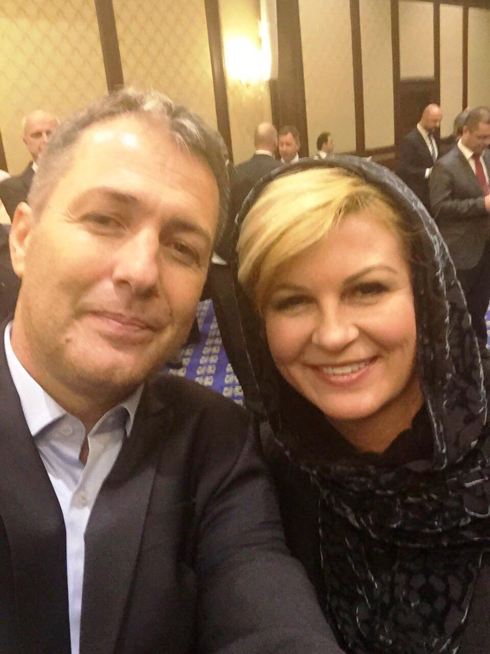 دیدار مربیان کروات با رئیس جمهور کرواسی در تهران! + عکس