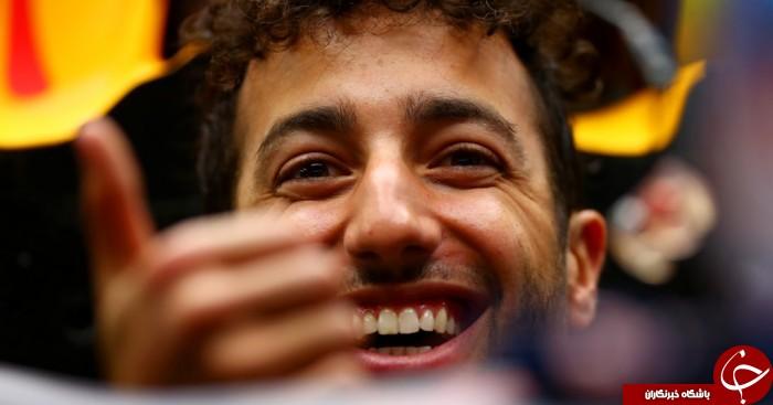 آپ دیت اتومبیل دانیل ریکاردو برای رقابت موناکو