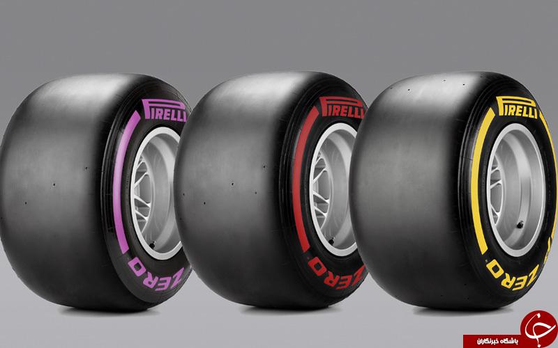 استفاده تایرهای جدید پیرلی در رقابت موناکو