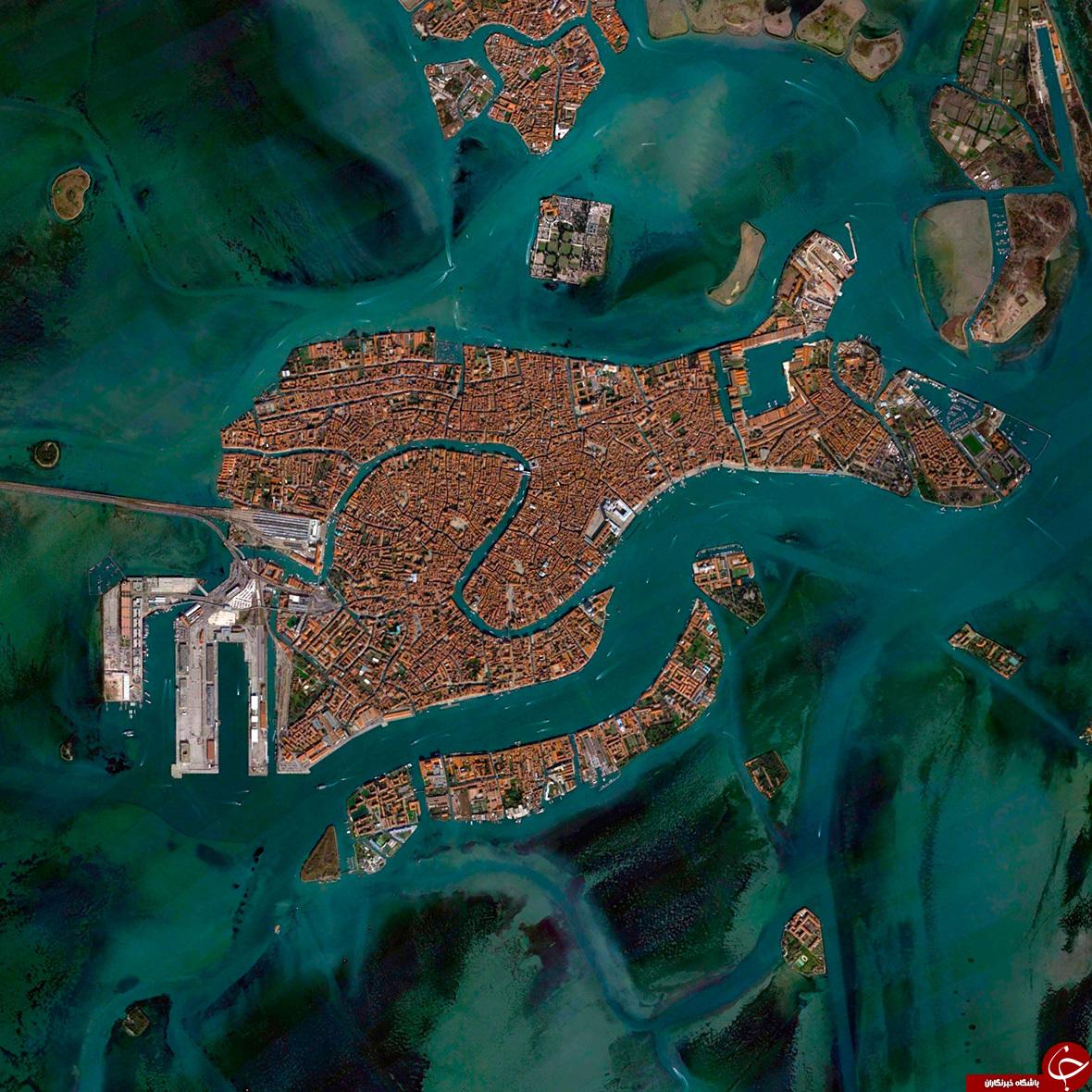 زمین به دست انسان اینگونه تغییر کرد + تصاویر هوایی