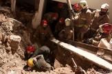 ریزش آوار در گودبرداری غیر اصولی خیابان نبرد/یک کارگر در دم جان باخت