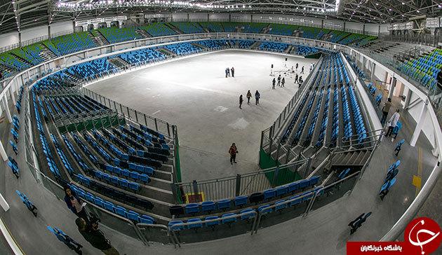 ورزشگاه جودو و کشتی المپیک افتتاح شد