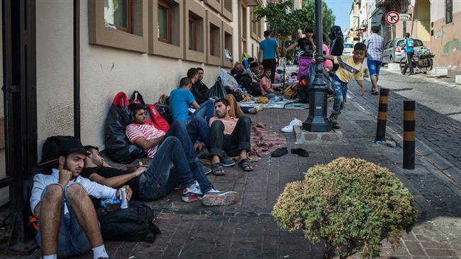 کارتن خوابی میلیونها پناهجو در سراسر جهان