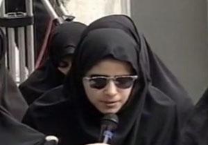 شعرخوانی مریم حیدرزاده در حضور رهبر انقلاب + فیلم