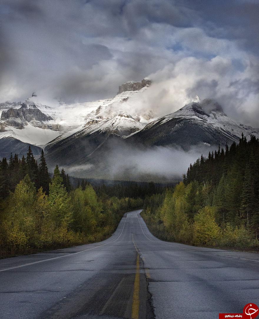 شگفت انگیزترین جاده های جهان +تصاویر