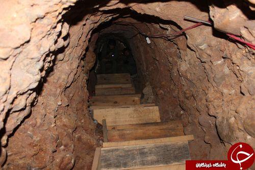 کشف بلندترین و مجهز ترین تونل قاچاق مواد مخدر +تصاویر