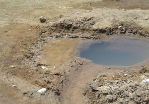 چشمه آب شرب در روستای خوسف + تصاویر