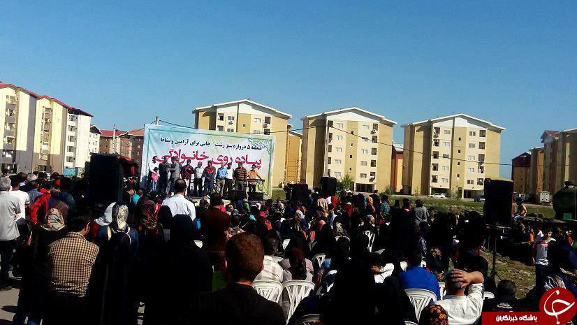 برگزاری همایش پیاده روی خانوادگی در دره گردو اراک