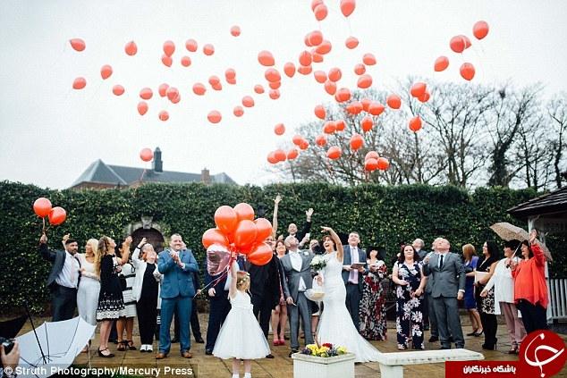 حرکت انساندوستانه عروسخانم در روز عروسی