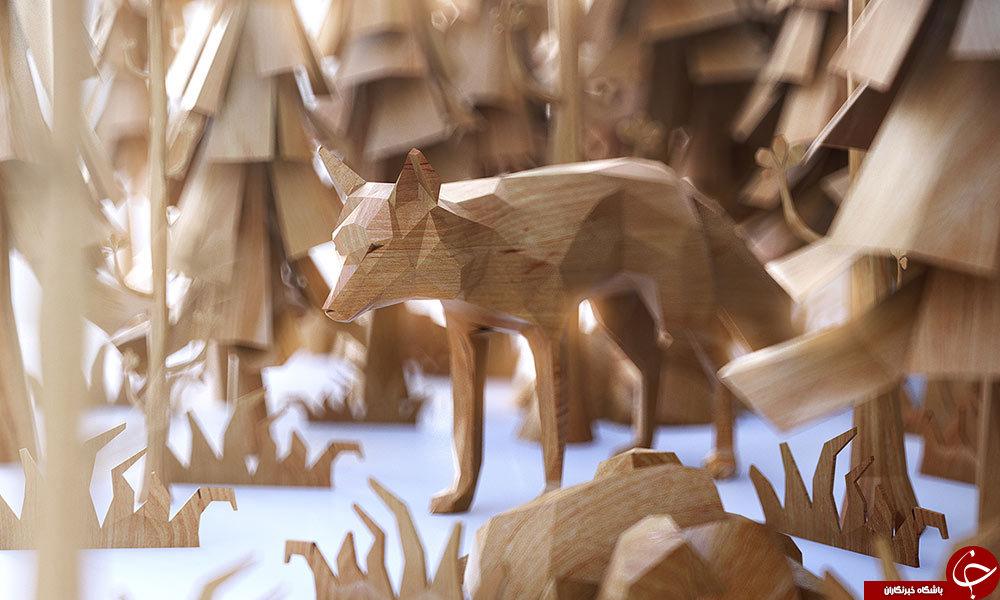 مجسمه های سه بعدی را تابه حال دیده اید؟+تصاویر