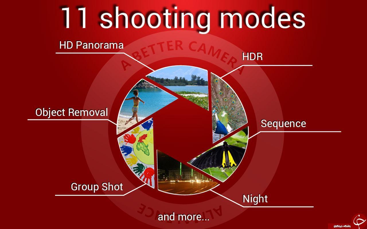 َA Better Camera حرفه ای ترین دوربین آندروید +دانلود