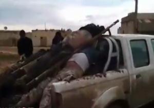 مدافعان حرم گوشه ای از انتقام خان طومان را گرفتند + فیلم