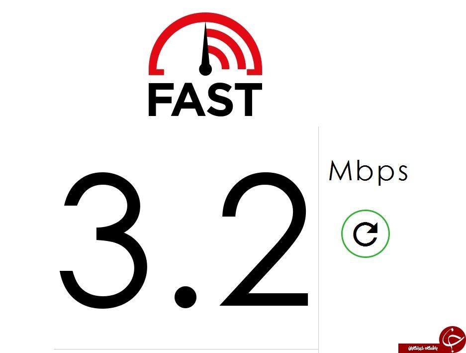 سرعت اینترنت خود را اندازه بگیرید و با دیگر کشورها مقایسه کنید.