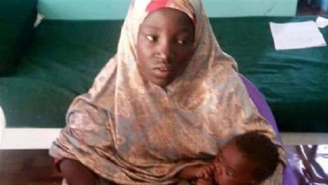 فرار دختر نیجریه ای از چنگ تروریست های بوکو حرام